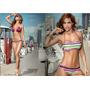 Ultimo Oferta Bikini Chamela Importado 3 Pieza Talla M Mujer