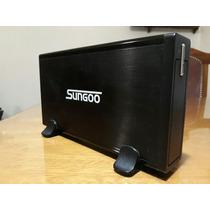 Disco Hdd 320 + Carry Case Aluminio + Fuente + Cable
