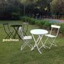 Juego Mesa Y 2 Sillas - Jardín, Balcón,cocina, Playroom, Etc