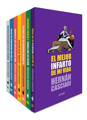 Los 7 Libros De Hernán Casciari
