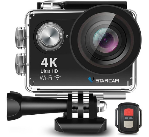 Camara Deportiva Sumergible Ultra Hd 4k 16mp Wifi + Control Remoto + Accesorios Video Filmadora Vstarcam