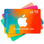 Tarjeta Apple Itunes Gift Card Usa U$10 P/ Iphone Ipad Ipod