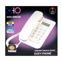 Telefono Fijo Oho 806 Cid Identificador Llamadas Mesa Pared
