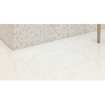 Porcelanato Rectificado Carrara 54x54 Brillante 1° Cal X M2