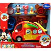 Autocaravana De Mickey. Fisher Price -minijuegosnet