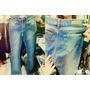 Pantalon Jean Oxford Elastizado