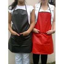 Delantales De Cocina Cuerina Uniforme Gastronomico