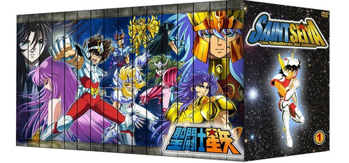 Saint Seiya [coleccion Final 2018] [32 Dvds]