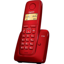 Telefono Inalámbrico Gigaset A120 Rojo Envío Gratis
