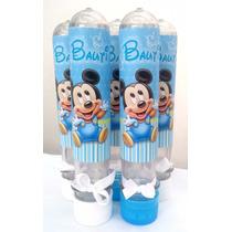 Tubos Golosineros Souvenirs Personalizados Mickey X 10 !!!