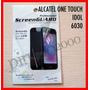 Film Protector De Pantalla Alcatel One Touch Idol - 6030