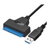 Cable Adaptador Usb 3.0 A Sata 2.5' Discos Rígidos Y Ssd Tecnopedido