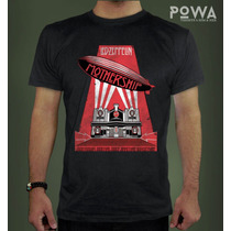 Remera Hombre Led Zeppelin Estampada 100% Algodón - Powa