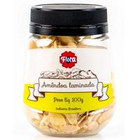 Amendoa Laminada 100g - Flora