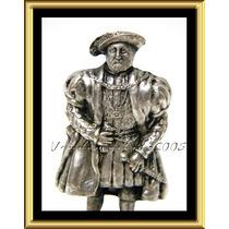 Excelente Figura Inglesa Rey Enrique Viii Crown Miniatures
