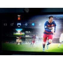 Playstation 3 Slim + 1 Joystick + 14 Juegos( Fifa16 Y Otros)