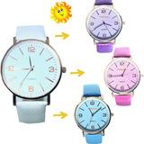 Reloj Vintaje Cambia Color   X 10 Unidades Surtidos