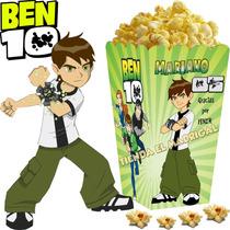 Kit Imprimible Ben 10 Candy Bar Golosinas Cotillon Y+ 2x1