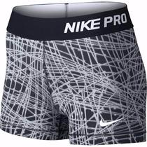 Calzas Nike Pro Cool Compression Short Corta Mujer -orig Usa