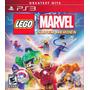 Lego Marvel Super Heroes Ps3 Nuevo Sellado Original