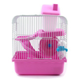 Jaula Para Hamster Raton Tipo Castillo 2 Pisos Microcentro