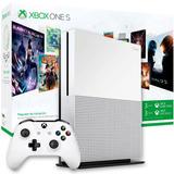 Consola Xbox One S 1tb 4k + Joystick + Juegos + Gamepass