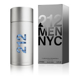 Perfume Importado 212 Men Nyc Carolina Herrera  X100ml