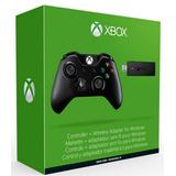 Joystick Control Xbox One Wireless Original + Adaptador Pc