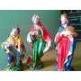 Reyes Magos Para Pesebre En Yeso, 30 Cm