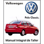 Manual Integral De Taller Vw Polo Classic 1.9 Tdi