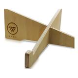 Woox - Stand De Diseño Para Notebook Hecho En Madera