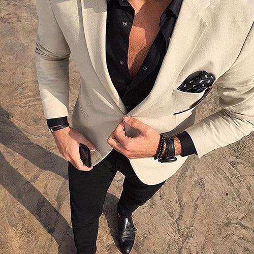 Traje Entallado C  Pantalon Chupin Ambo De Vestir. Precio    2800 Ver en  MercadoLibre 6232243bdec