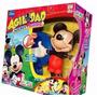Muñeco Agilidad Mickey Mouse Juego Original De Tv