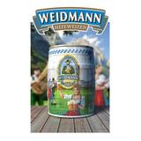 Barril De Cerveza Weidmann 5 Lts - Importada De Alemania