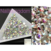 Cristales Swarovski Decoración De Uñas Esculpidas Acrilicas