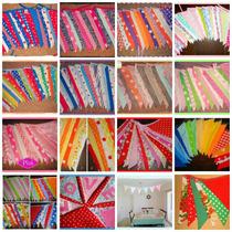 Banderines De Tela Decorativos ¡hermosos!