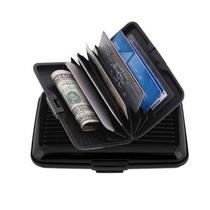 Billetera Tarjetero Aluminio Security Credits Cards Durable,