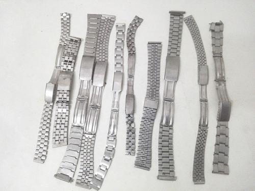 Mallas De Relojes Pulsera Para Repuestos Sin Marca Ms36