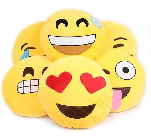 9ca41f4dc5 Almohadon Emojis Felpa Bordados Infantil Souvenir 33 Cm $119 iZAHU ...