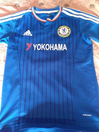 Conjunto Camiseta + Short De Chelsea Replica En Buen Estado 0f1292172c00e