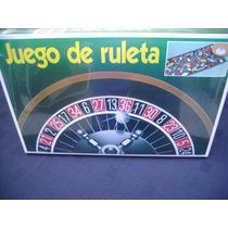 Ruleta Juego De Mesa Para Toda La Familia.