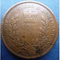 Essequebo Y Demarary Guyana Britanica 1 Stiver 1813