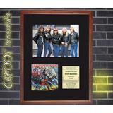 Iron Maiden Foto, Tapa Disco Firmada Y Entrada Recital 1982