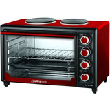 Horno Electrico Ultracomb Uc40ac 40 Litros Doble Anafe 3200w