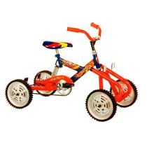 Cuatriciclo A Pedal Con Suspension Ruedas De Goma Y Chapa!!