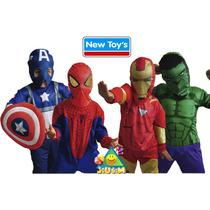 Disfraz Super Heroes Originales Avengers- Spiderman Jiujim