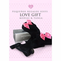 Love Gift Pretty Medias & Tanga Sexitive Sex Shop Boutique