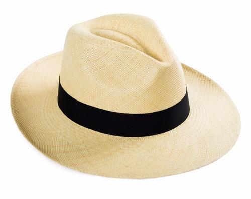 Sombrero Panama Original Marfil. De Paja 1ccf4bcbb4c