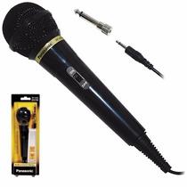 Microfono Vocal Karaoke Panasonic Rp-vk21pp-k Negro