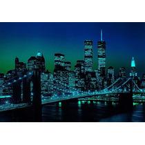 Rompecabezas Puzzle Nueva York Iluminado Tomax X1000 Piezas